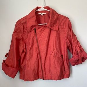 CABI Women's Zip-Up Jacket Sz M
